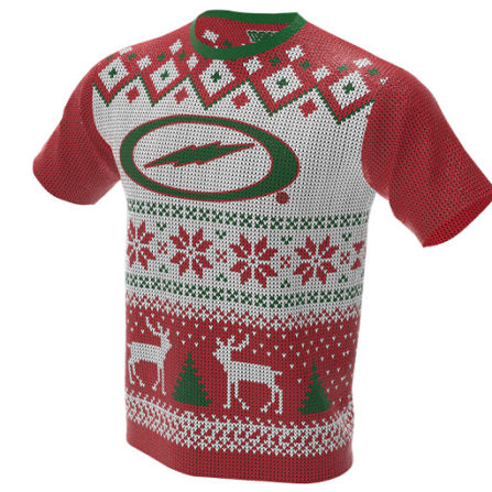 Ugly Christmas Jersey / Sweater - Storm Bowling Jersey - Jersey Alley