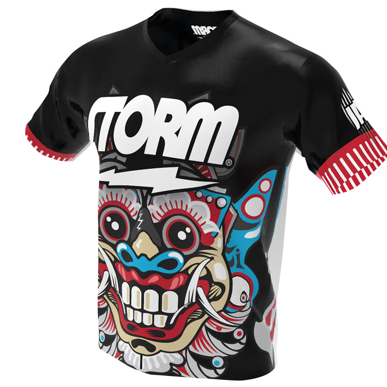 The Barong Mask - Storm Bowling Jersey