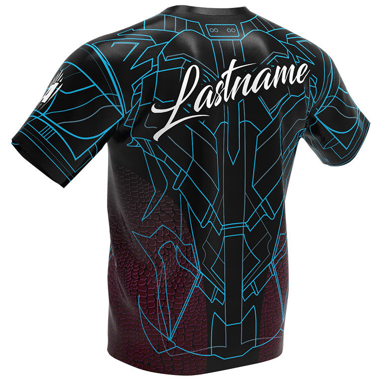 Storm Bowling Jersey - Bionic Fusion - Red 2