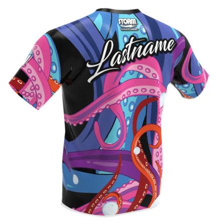 Storm bowling jersey - The Kraken - Back