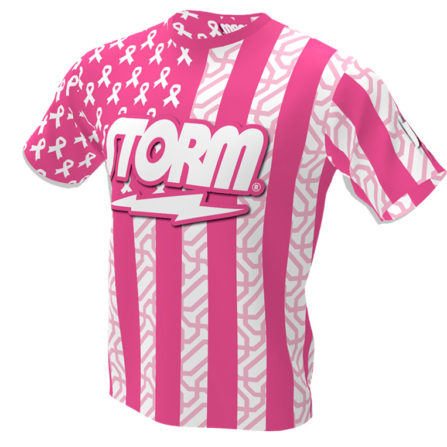 Pink Breast Cancer Awareness Bowling Jersey - Storm Bowling