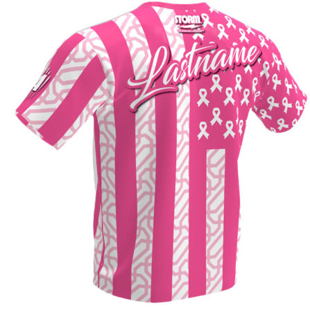 Breast Cancer Awareness Jersey - Pink Storm Jersey - Back