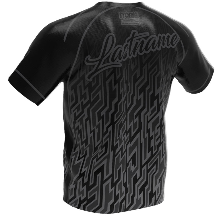 Cryptic Black - Storm Bowling Jersey
