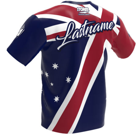 Storm Australian Flag Jersey Back