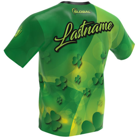 Saint Patrick's Day Bowling Jersey - 900 Global - Back