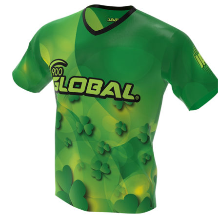Saint Patrick's Day Bowling Jersey - 900 Global - Front