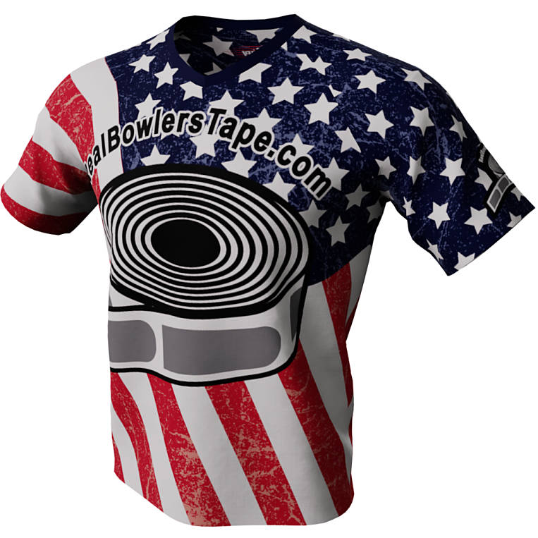 Purely American - Real Bowlers Tape Bowling Jersey