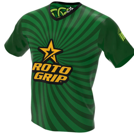 Roto Grip Bowling Jersey - Irish - The Leprechaun - front