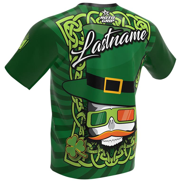 Roto Grip Bowling Jersey - Irish - The Leprechaun -back