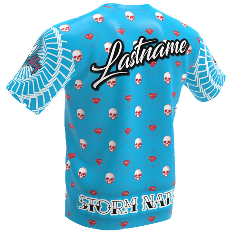 The toxic Diamond Bowling Jersey - Jersey Alley- Storm 6