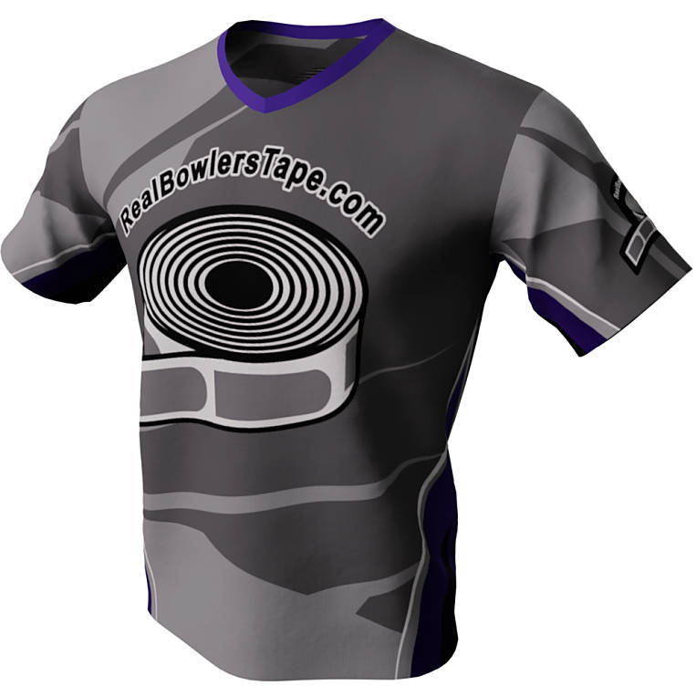 Wrapped Up - Real Bowlers Tape Bowling Jersey