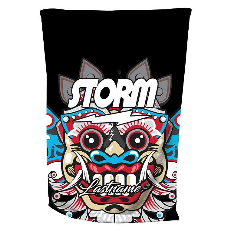 barong mask - Storm Bowling Towel