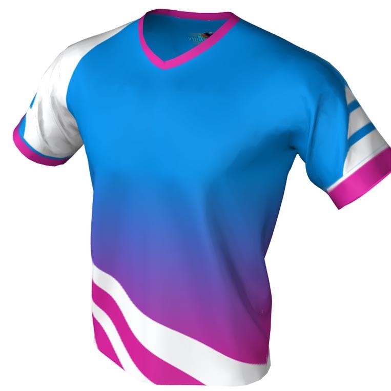 Extra Frame Pattern - V neck bowling jersey
