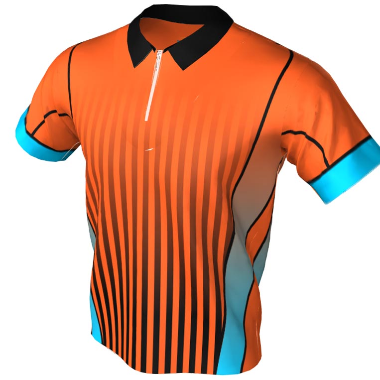 slot alley - orange bowling jersey