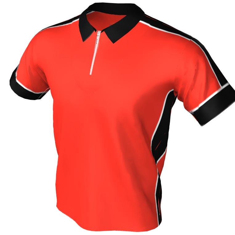 the brooklyn pattern - polo zip bowling jersey